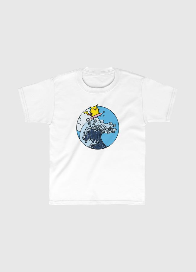 The Great Electric Wave - Kids Classic T-Shirt